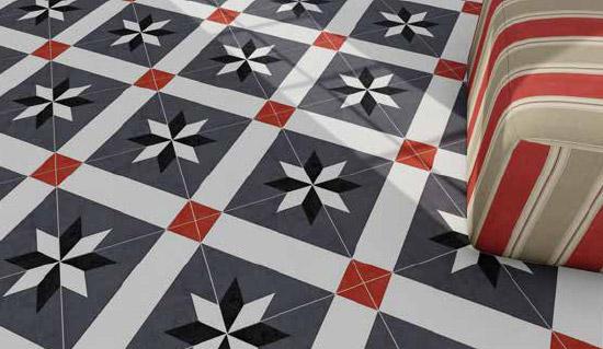 Finiture e composizioni creative per gli adesivi da pavimento - Pellicola per pavimenti ...