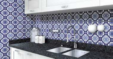 Piastrelle adesive per pavimento bagno: moonwallstickers adesivi per