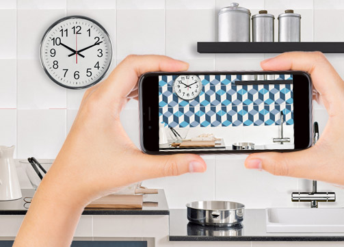 Adesivi per piastrelle cucina for Rivestimenti cucina adesivi