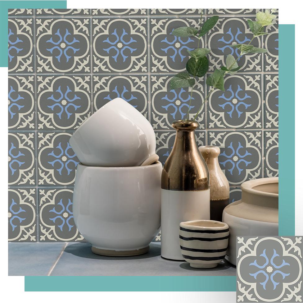 Piastrelle Decorative Per Tavoli tileskin | la seconda pelle delle tue piastrelle che assorbe